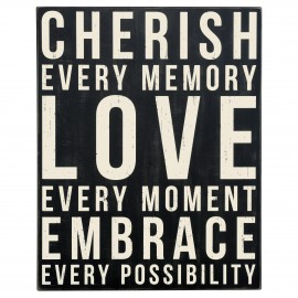 CUADRO CHERISH EVERY MOMENT