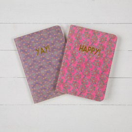 LIBRETA HAPPY/YAY x2